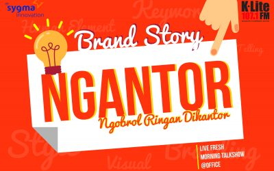 "Edisi Perdana Program ""Ngantor"" Sygma Media Innovation dan K-Lite 107,1 FM Segera Diluncurkan"