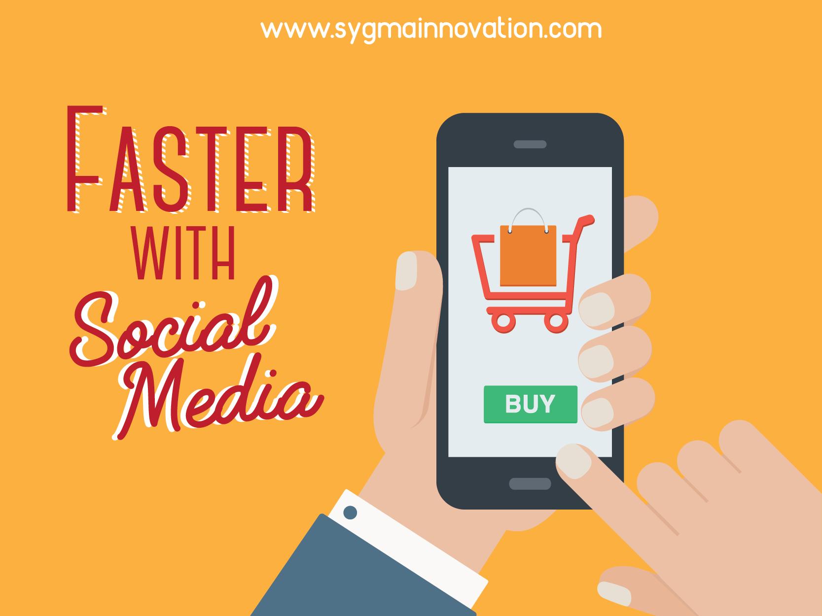 Berbelanja secara cepat melalui media sosial