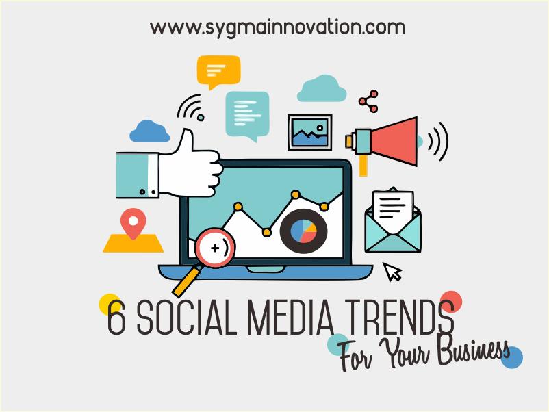 Infografis 6 Tren Sosial Media 2017 yang Bisa Menjadi Peluang Peningkatan Bisnis