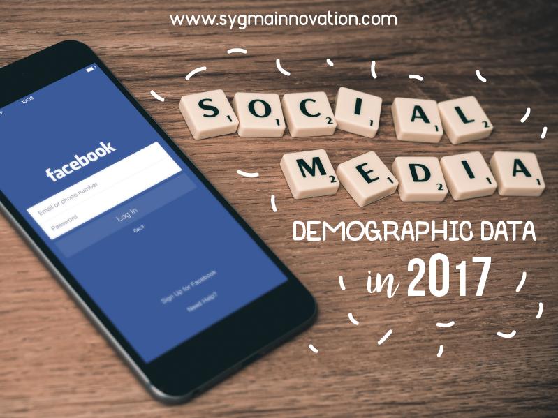 Infografis Data Demografis Pengguna Media Sosial pada Tahun 2017
