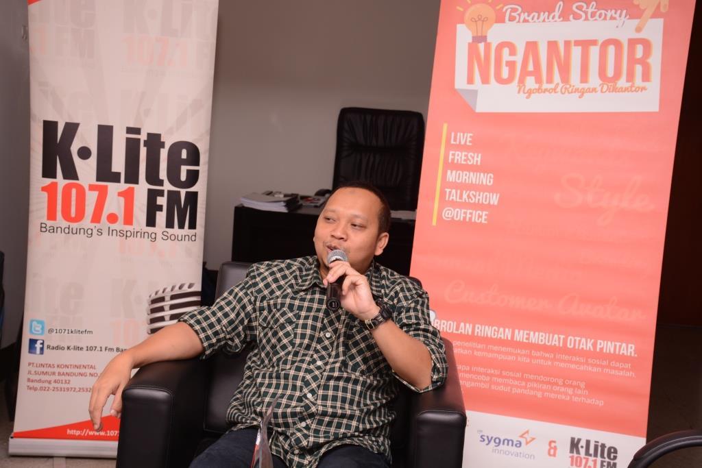 Edisi Ngantor Sygma Innovation Bersama K-Lite FM di Agro Jabar