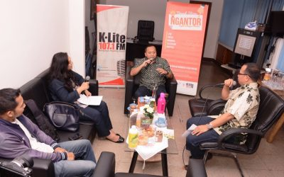 "Edisi ""Ngantor"" Sygma Innovation Bersama K-Lite FM di Agro Jabar"