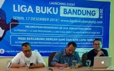 Launching Event Liga Buku Bandung – Pameran Buku dengan Diskon Heboh Awal Tahun 2019