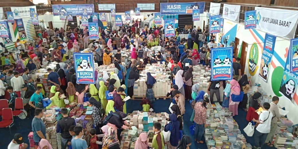 Liga Buku Bandung Sukses Dihadiri Sekitar 19.000 Pengunjung di Awal Tahun 2019