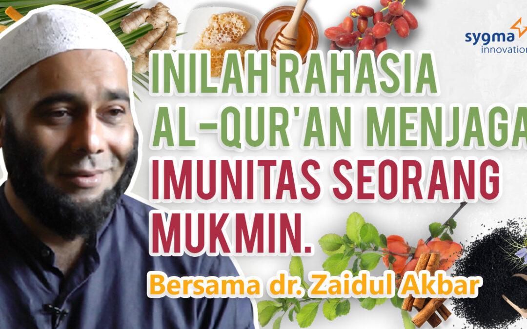 [Video] Webinar Jurus Sehat Rasulullah & Quranic Immunity Bersama Ustadz dr Zaidul Akbar
