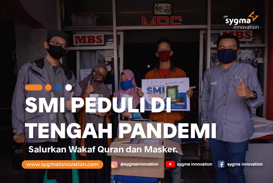 Kisah di Balik Penyaluran  Wakaf Al-Quran bersama  SMI Peduli