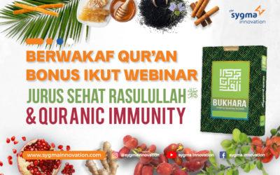 Berwakaf Al-Quran Bonus Ikut Webinar Bersama Ustadz dr. Zaidul Akbar